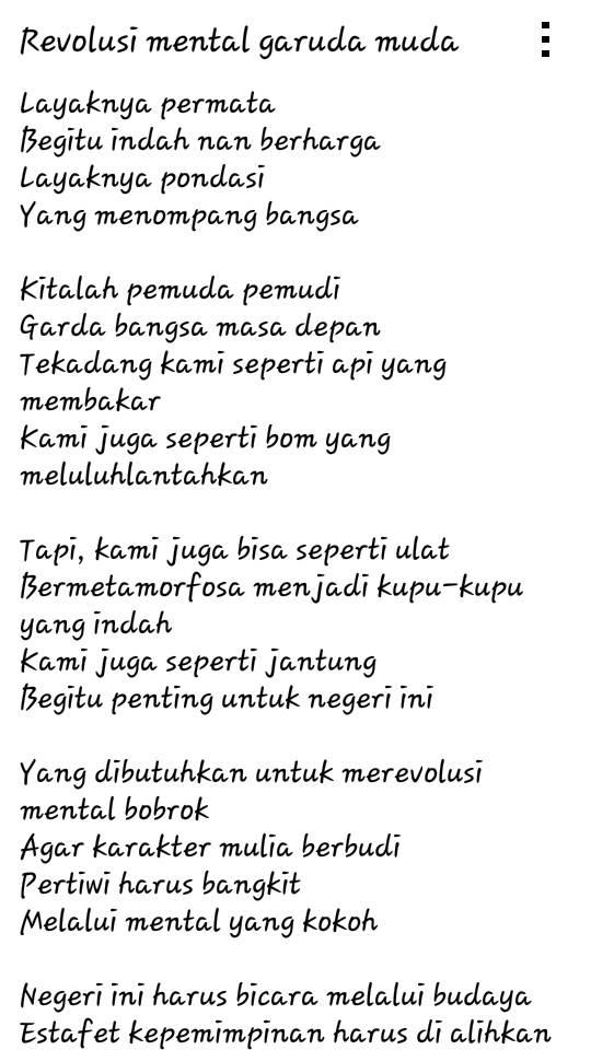 Sman 74 Jakarta Puisi Yang Jadi Jagoan Di Fls2n