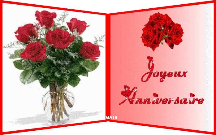 Bouquet De Fleurs Pour Vous Joyeux Anniversaire ツ Images De