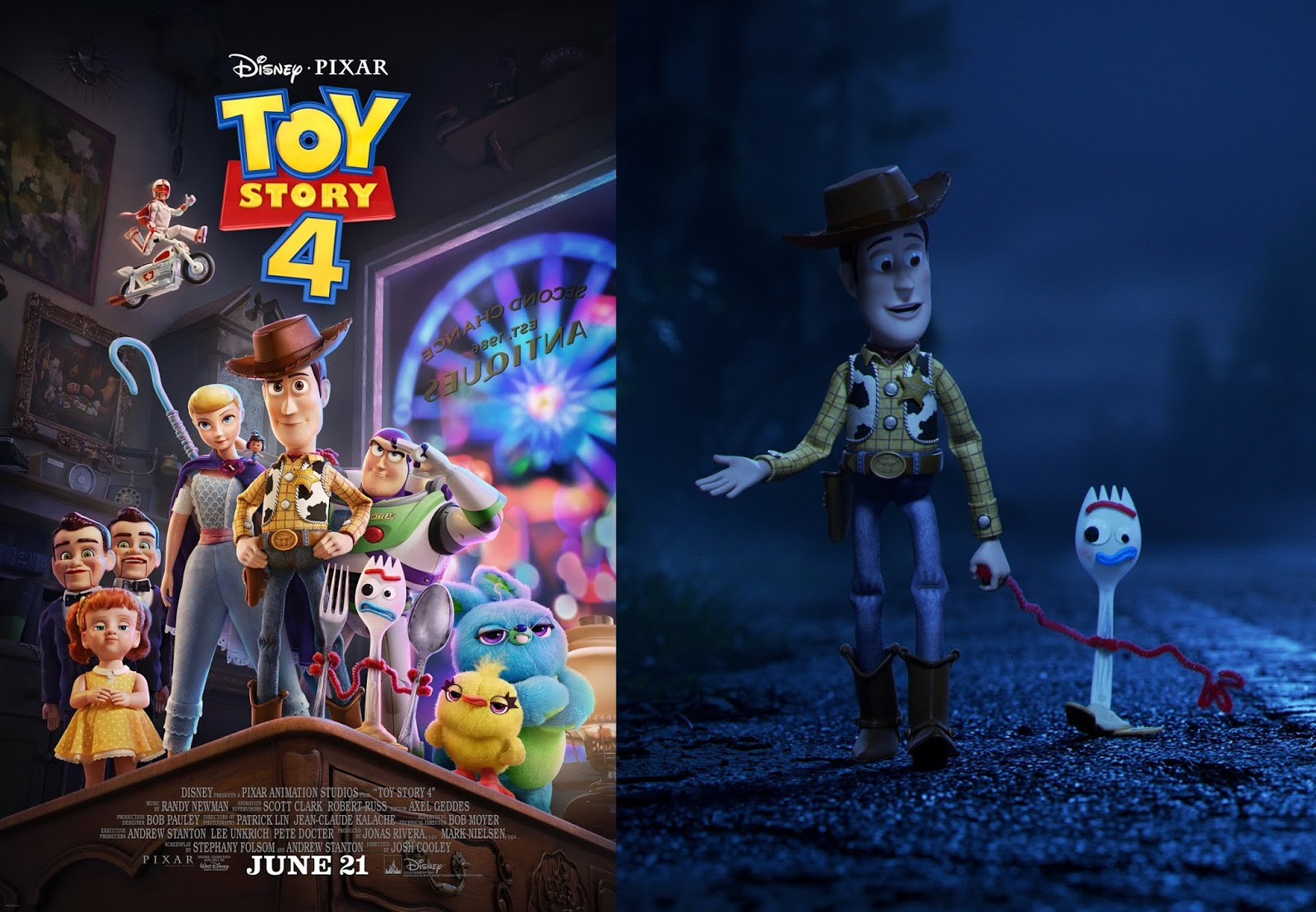Toy Story 4 Full Length Trailer First Official Look At
