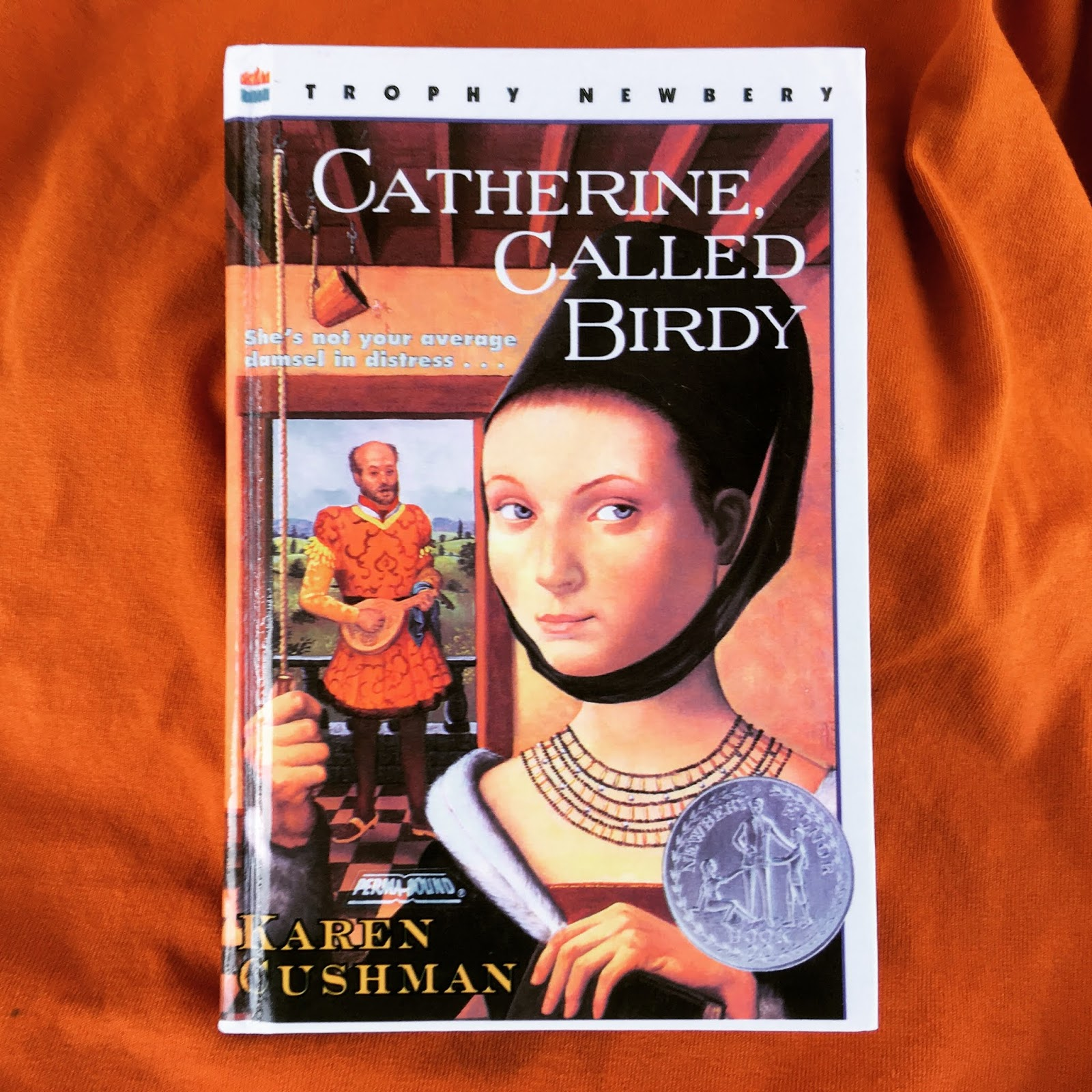 Review of Catherine, Called Birdy by Karen Cushman | Lydia Sanders #TwistyMustacheReviews
