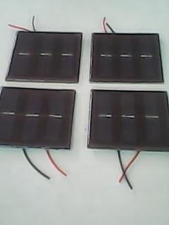 mini solar cell matahari experimen tenaga surya
