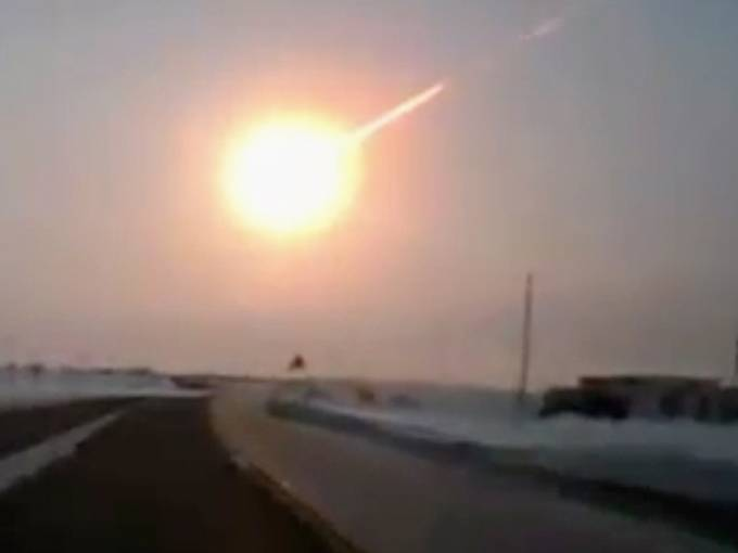The Science Mans Blog Meteor Explosion Over Russia