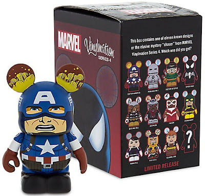 "Marvel Vinylmation Series 4 3"" Mini Figures by Disney"