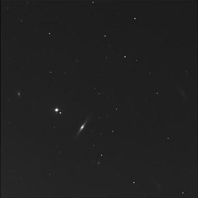 RASC Finest galaxy NGC 4111 in luminance