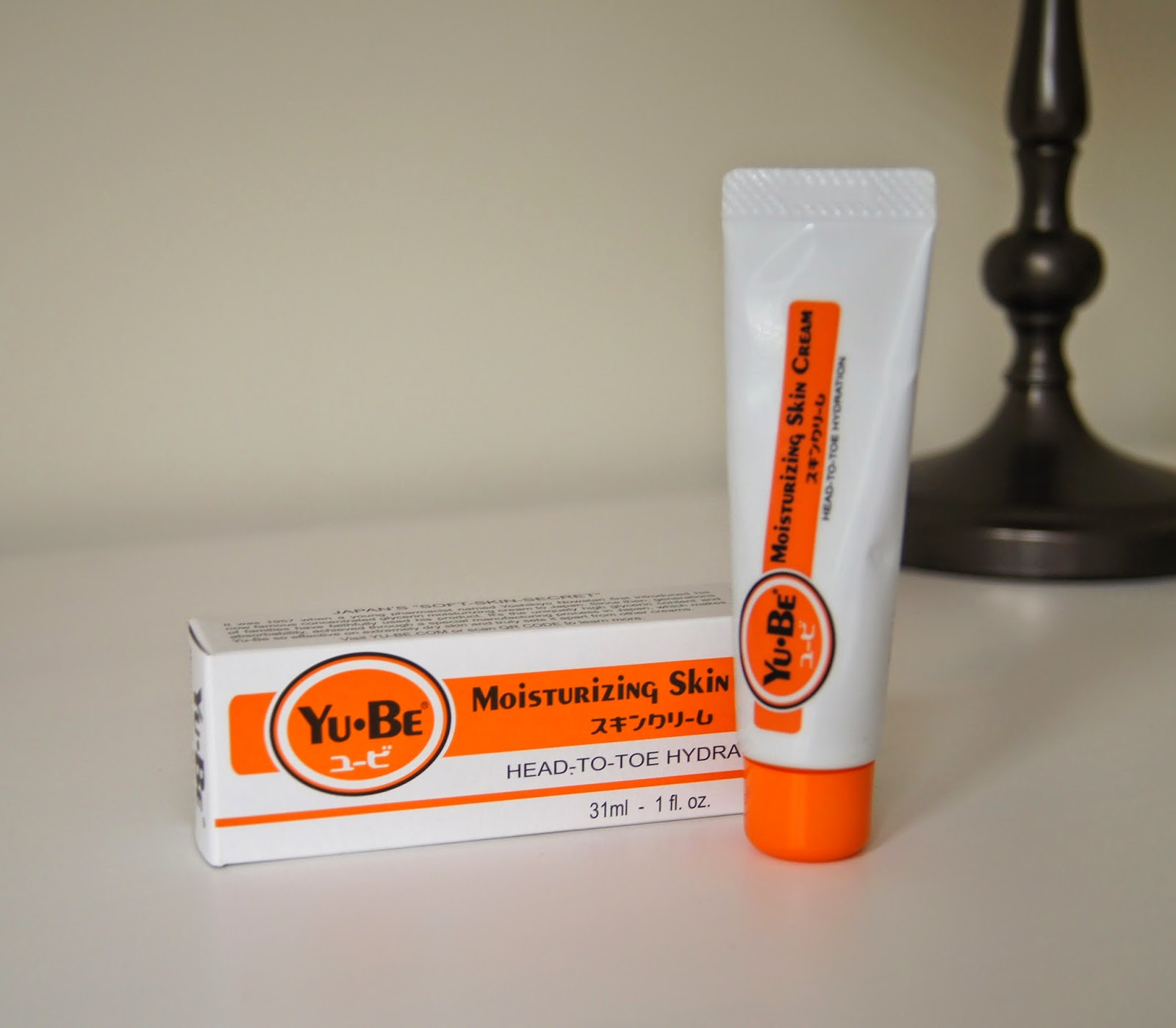 yu-be moisturizing skin cream body balm review