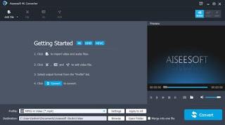 Aiseesoft 4K Converter 9.2.16 Multilingual Full Keygen