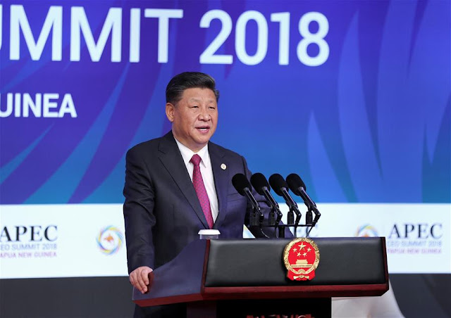 Powes Parkop: Inti Point dari Pidato Presiden China, Xi Jinping