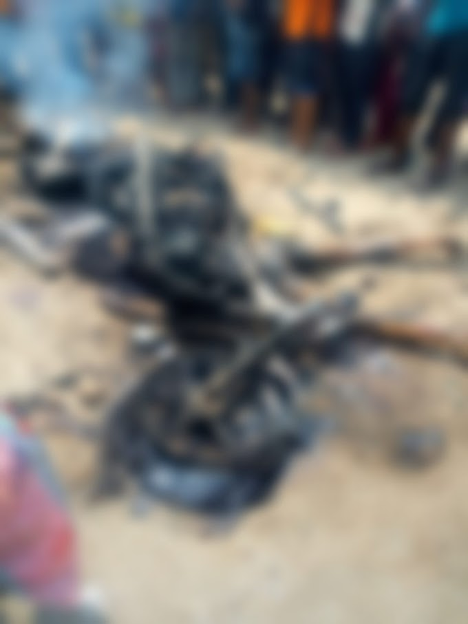 Killers Of Keke Driver Caught, Burned To Ashes In Aba