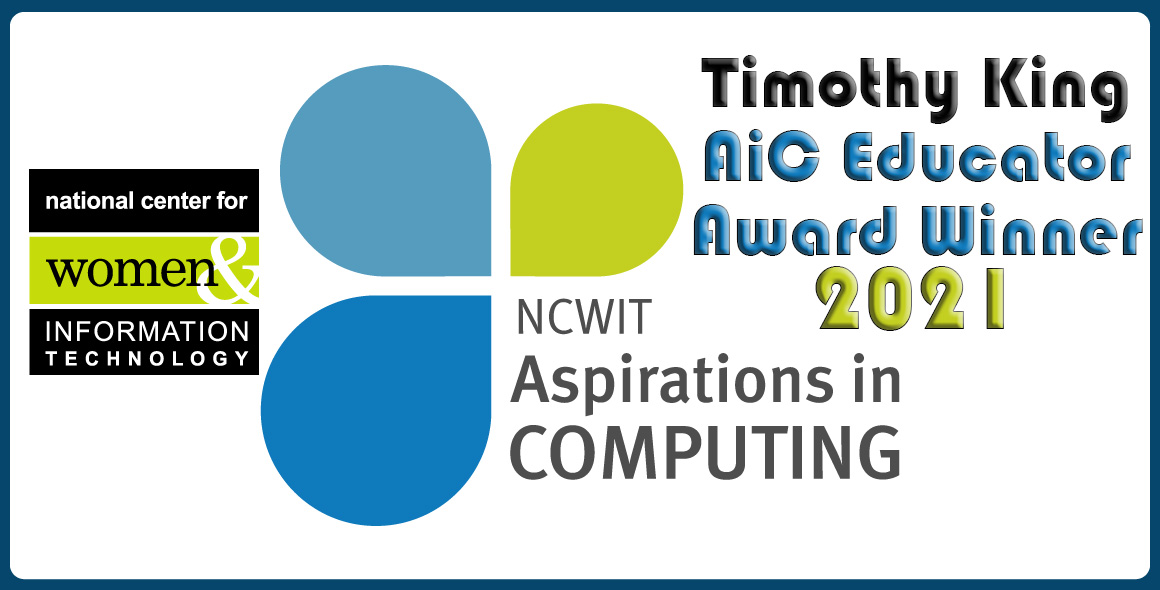 NCWIT Aspirations In Computing Educator 2021