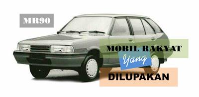 Mazda MR90, mobil rakyat yang dilupakan