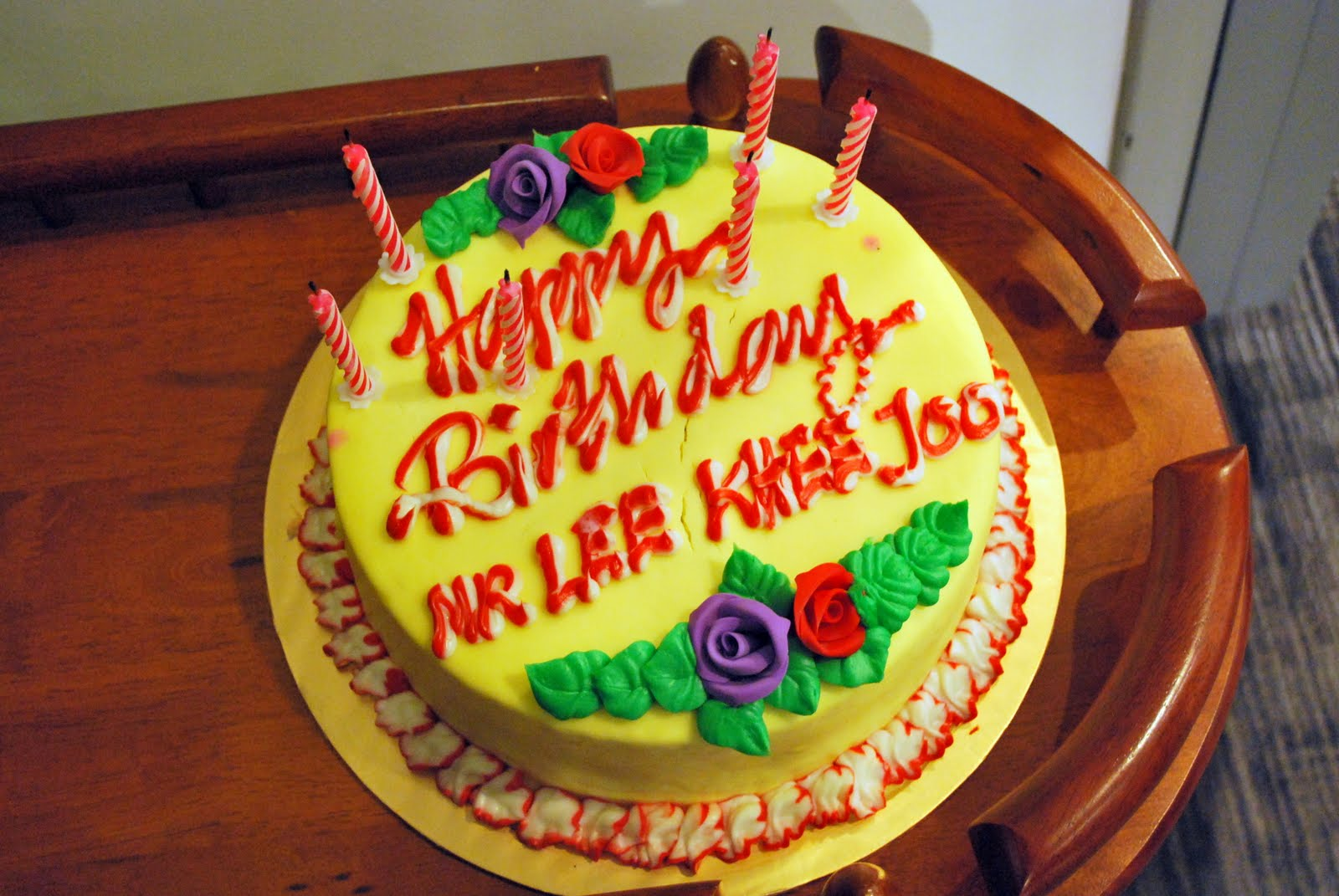 Happy Birthday Lee Cake Brithday Cake