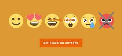 Cara Hapus Tombol Emot Marah di Widget Reaksi Sharethis