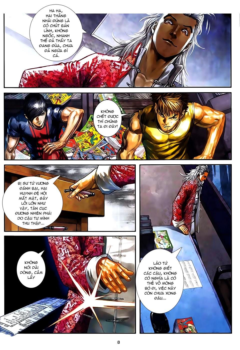 Quyền Đạo chapter 9 trang 8
