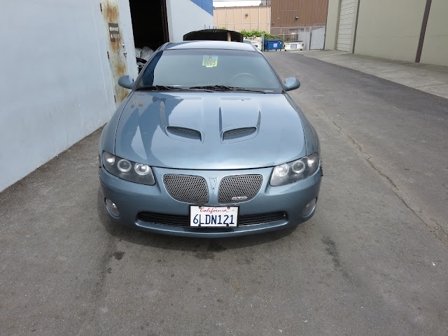 Pontiac GTO after switch to Cyclone Grey at Almost Everything Auto Body