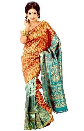 Designer Baluchari Saree