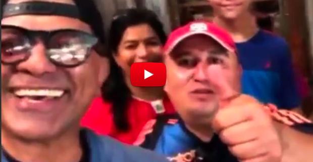 Franklin Virgüez denuncia a un chaburro que se hizo pasar por refugiado político