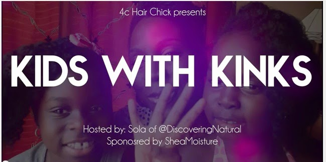 Detangling Natural Hair Kids