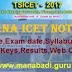 TS ICET Notification 2017,Telangana ICET Schedule,Online Apply,Syllabus,Exam Pattern,Keys,Result