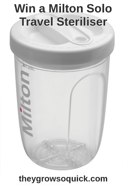 Win a Milton solo travel steriliser
