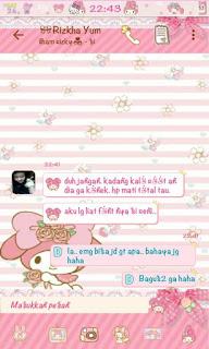 Download BBM MOD Skin Kitty Dora Terbaru 2016