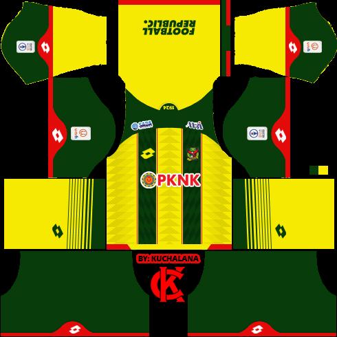 b2831f536f8 Kedah FA 2019 Kit - Dream League Soccer Kits - Kuchalana