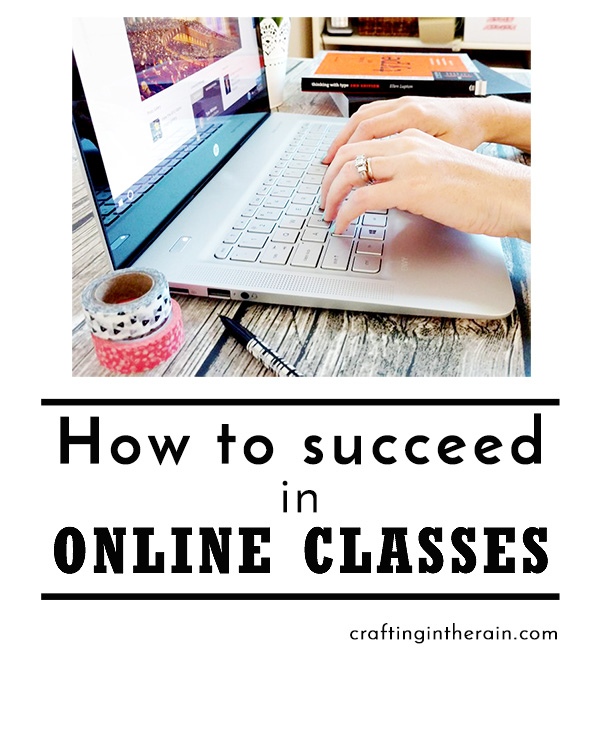 How to succeed in online classes