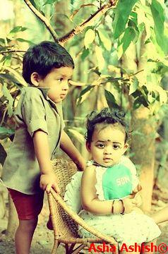 Bhavana Childhood Photos