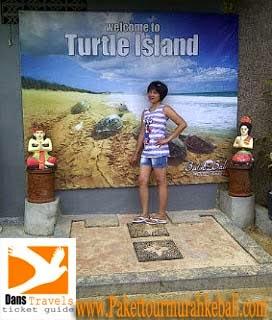 Turtle ISland - Pulau Penyu Watersport Tanjung Benoa