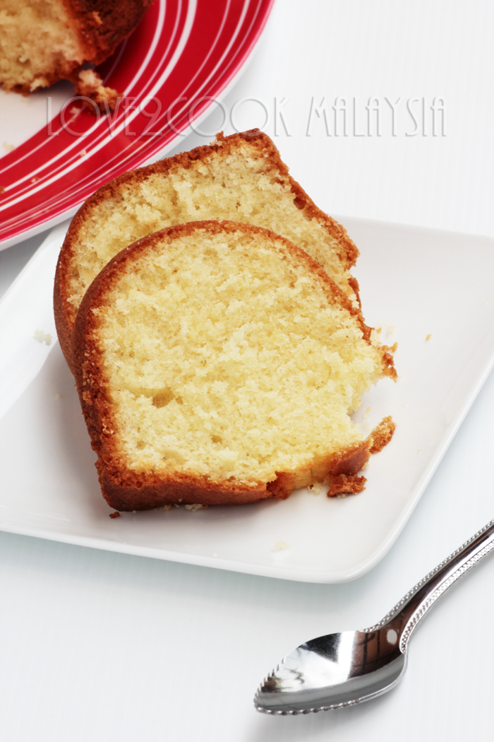 Thank You Kak Jee For Sharing A Spoon Licking Er Cake Recipe With Us Terima Kasih Beribu Ribu Lemon