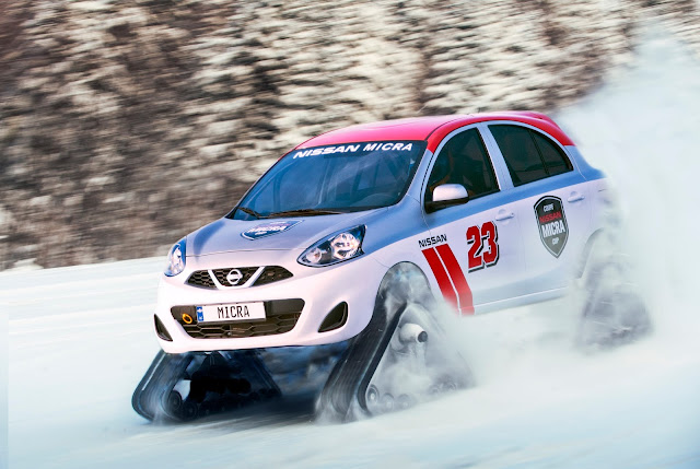 Nissan Micra Warrior Trophy Car
