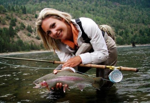april vokey tenkara sasquatch fly fishing sighting