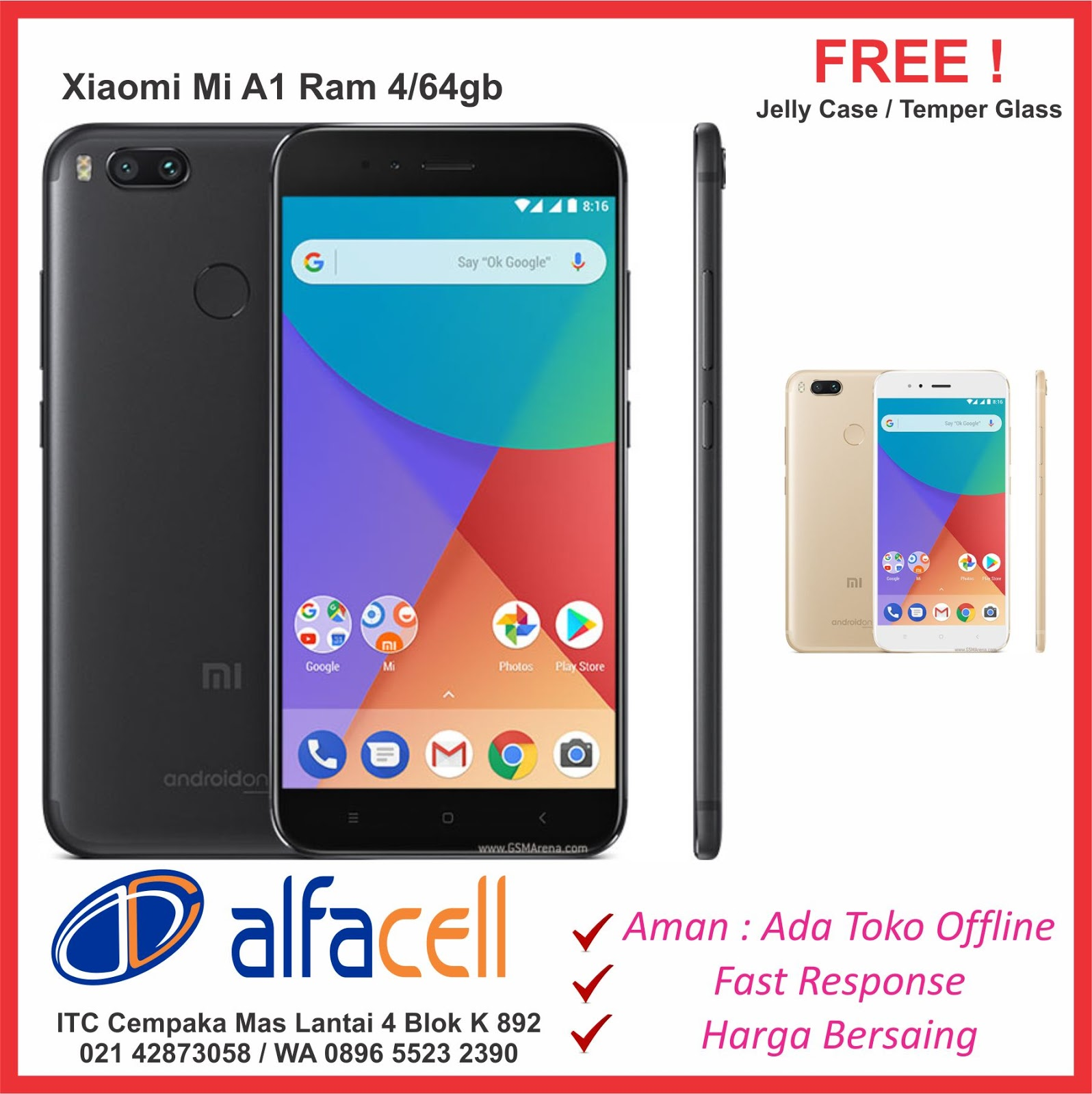 Alfacell Store Service Training Center Xiaomi Murah Itc Cempaka