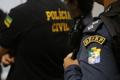 Ação conjunta entre PC e PM prende acusados de violência doméstica nas cidades de Riachuelo e Divina Pastora