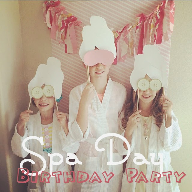 Spa Day Birthday party