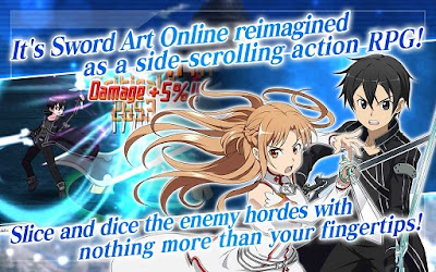 Download Sword Art Online Memory Defrag MOD Unlimited English Version v1.9.0 Apk Terbaru Gratis