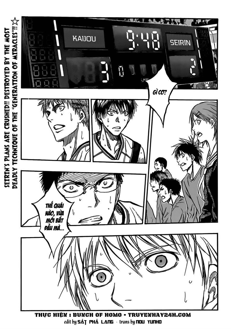 Kuroko No Basket chap 185 trang 1