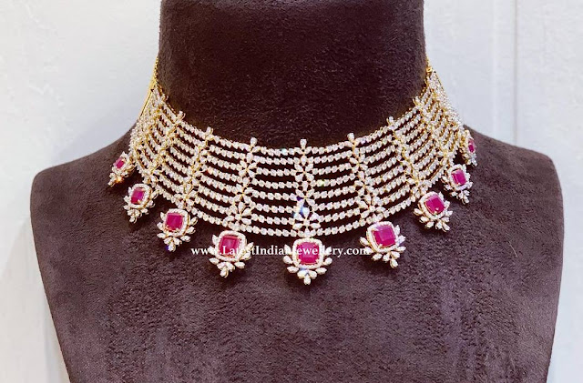 Parnica Gorgeous Diamond Necklace