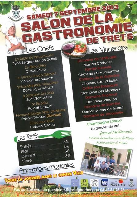 Salon Gastronomie Trets 2019