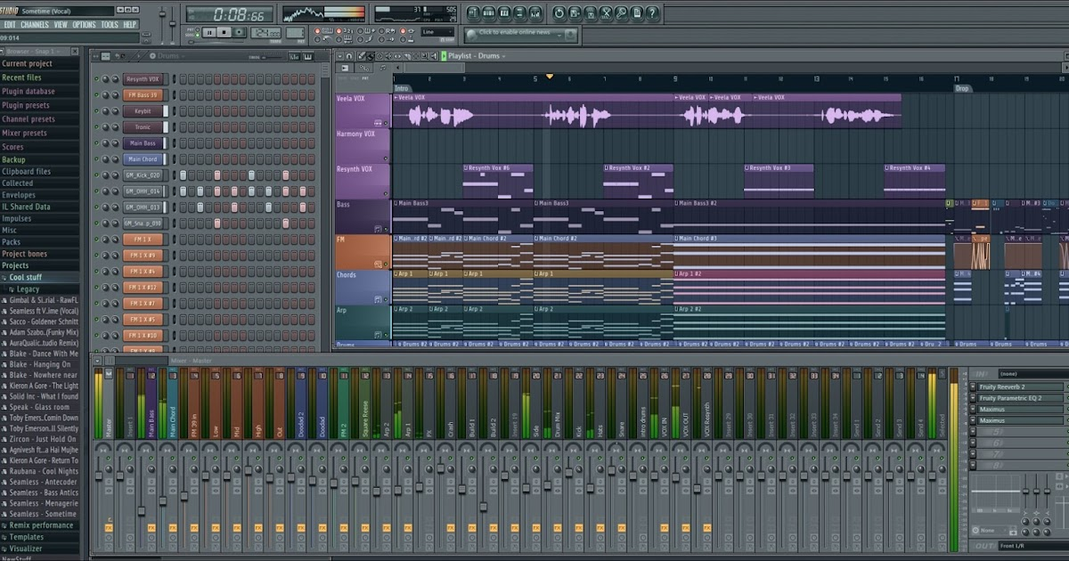 Fl studio 11 producers edition download.