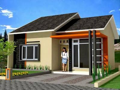 Tampilan 3D Desain Rumah Minimalis Dengan 3 Kamar Tidur Sederhana