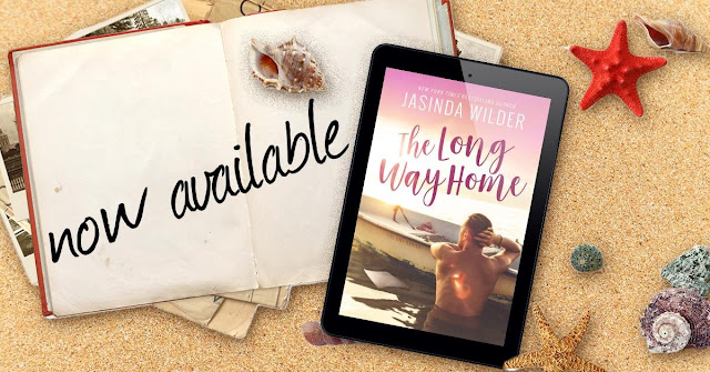 [New Release] THE LONG WAY HOME by Jasinda Wilder @jasindawilder @TheNextStepPR #Giveaway