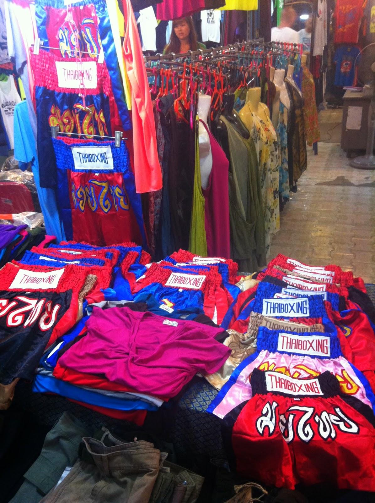 Ropa Muay Thai Chatuchak Bangkok