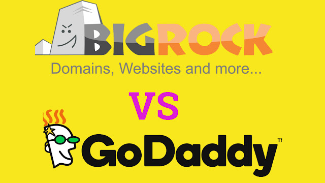bigrock vs go daddy domain which one is better