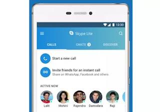 app skype leggera