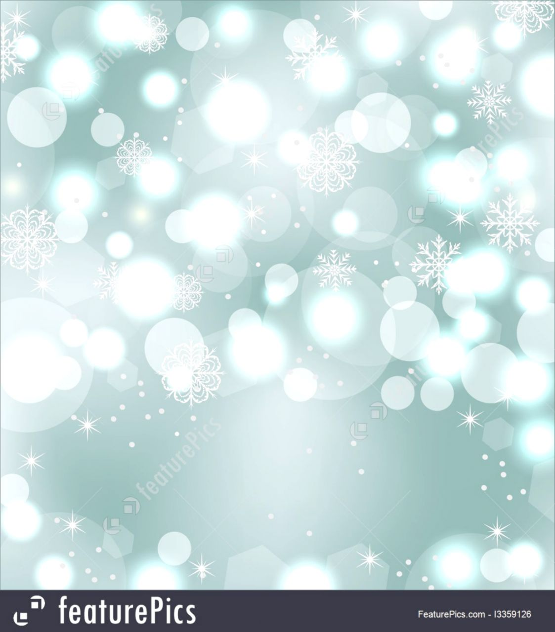 Templates Christmas Cute Wallpaper With Sparkle Snowflakes