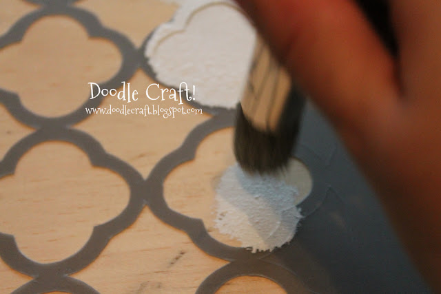 Paint Stenciling And Staining