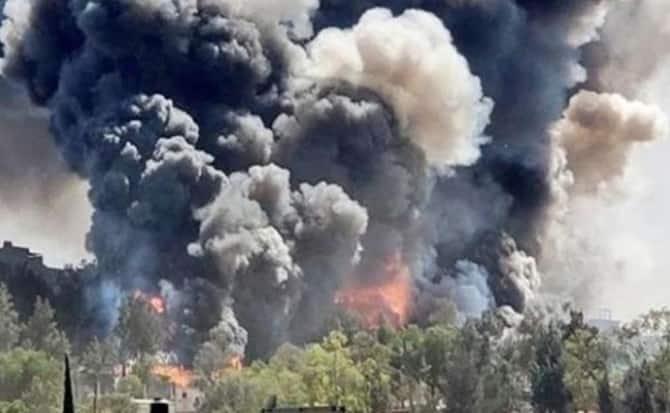 Explosiones, pirotecnia, incendios