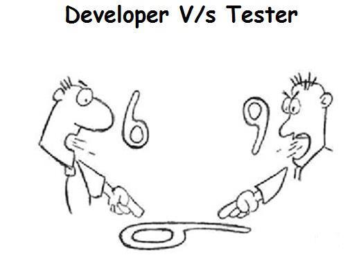 Have Ultimate Fun: Joke: Developer Vs Tester