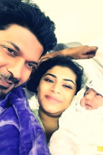Hirunika becomes a mother; first offspring ... a baby boy
