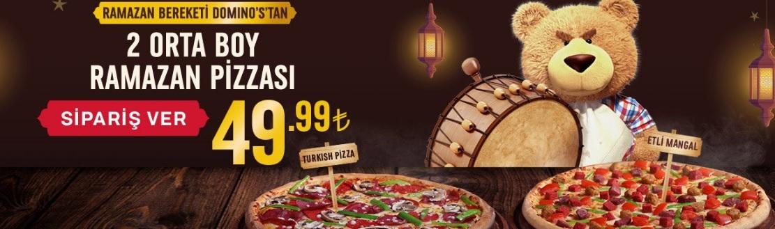 dominos pizza ramazan 2019 iftar menü ve fiyatları kampanyaları